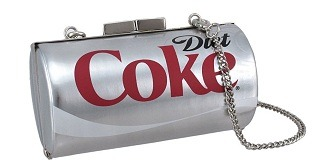 Coca-Cola Purse Fun Evening Clutch Bag »> View more Coca Cola stuffCute stylish for Coca Cola fans, especially if you like Diet Coke!