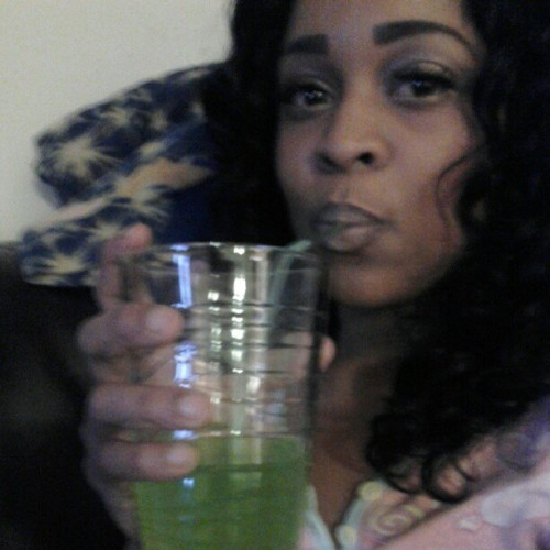 Sipping … nothing to do
