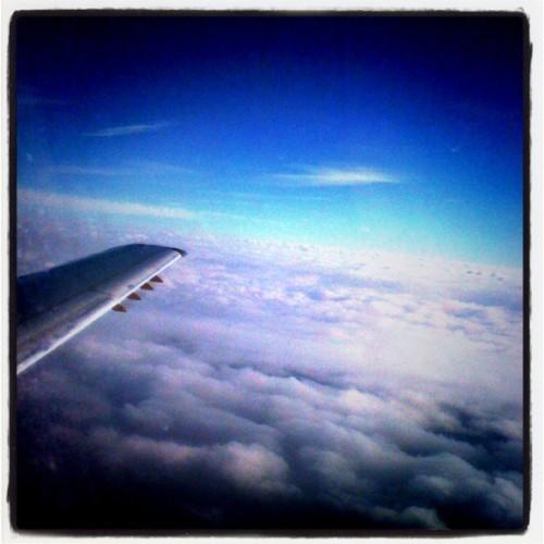I wish I could fly everyday just to look out the window.