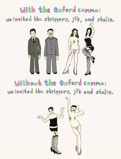 Oxford comma ftw
