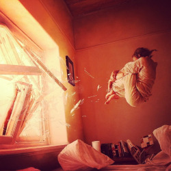 How I woke up this morning… #art #painting #jeremygeddes #geddes by VisuaLinguist on Flickr.