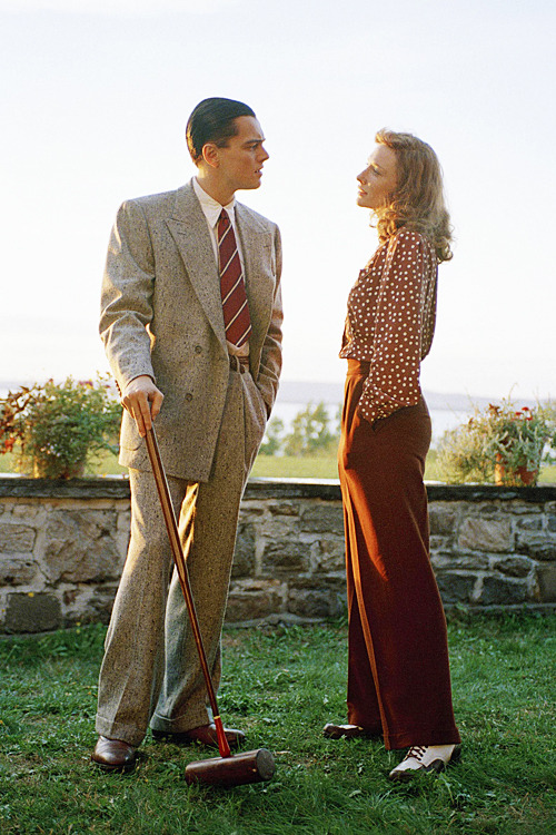Cate Blanchett & Leonardo DiCaprio in 'The Aviator', 2004.