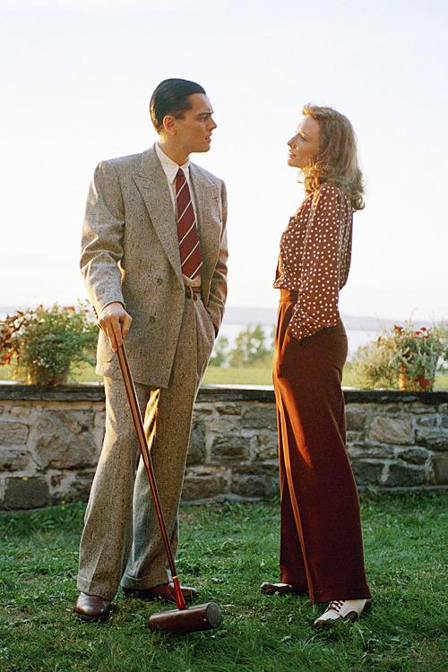 Cate Blanchett & Leonardo DiCaprio in 'The Aviator', 2004.