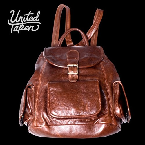 "New release on www.united-taken.com. ""AVIATOR"" backpack. Genuine premium full grain leather backpack inspired by the aviators of the 1940's. Three pockets. Generous capacity. Striped canvas interior. Zipper interior pocket. Velcro and buckle enclosure. MADE IN THE BRIGHTNESS OF A NIGHT FLIGHT. #backpack #flight #fashion #premium #leather #goods #instapic #instashop #photo"