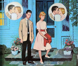 Shy Lovers, 1962 - Illustraded by Amos Sewell