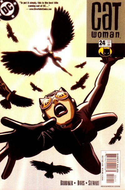 Catwoman v3 #24, December 2003, written by Ed Brubaker, penciled by Guy Davis
