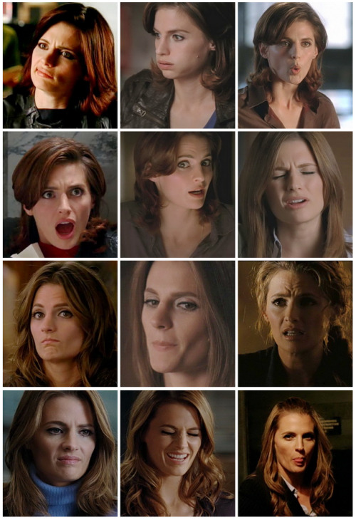 follower41319:  Stana Katic, I love your funny face
