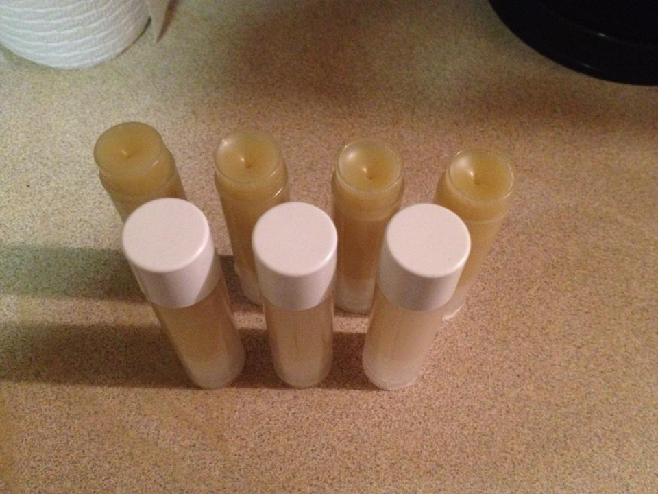 Winter Lip Care I just whipped up these all-natural, raw & organic, DIY lip balms using 4 ingredients and in only 10 min! Tutorial will be posted on my YouTube this Sunday by noon :) Are you subscribed?