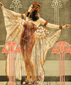 vintagegal:  Movie poster for Cleopatra starring Theda Bara (1917)