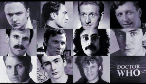 doctor-who-overdose:  The Doctors before they got their PhD in timey-wimeyClick for the best DoctorWho tumblr ever.