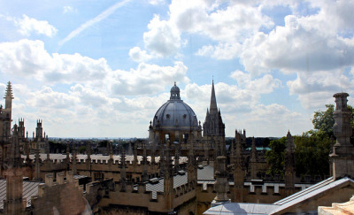 View from The Cupola of The Sheldonian Theatre by curry15 on Flickr.