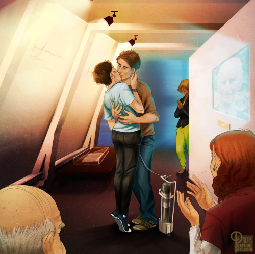 paln-k:  As Otto Speaks by me on deviantArt SPOILERS FOR THE FAULT IN OUR STARS by John Green.