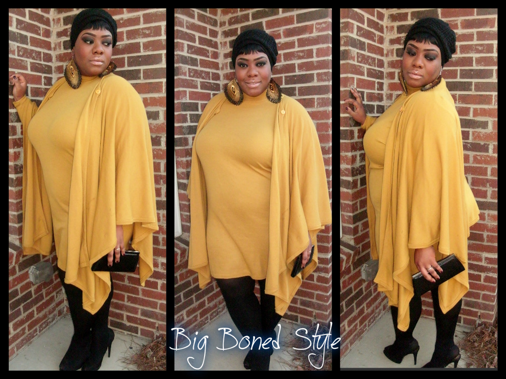 fffab:  bigbeautifulblackgirls:  Dress & Shawl/ Thrifted gift from Grandmother Stocking/ JustMySize (Walgreen's) Shoes/ Anne Michelle Clutch/ Gifted by Mother Earring/ www.diva-n-u.com www.bigbonedstyle.blogspot.com  THAT DRESS IS EVERYTHAAAAAAAAAAAAAAAAAAANG YOU LOOK FAB