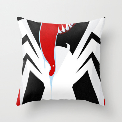 Society 6 is suddenly offering my artwork on throw pillows. I haven't actually had a chance to re-format the stuff to work well on pillows yet, but I have to say this Venom pillow looks pretty awesome.