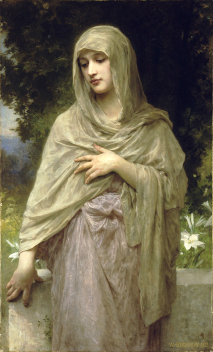 immerlein:  Modesty by William A. Bouguereau <3