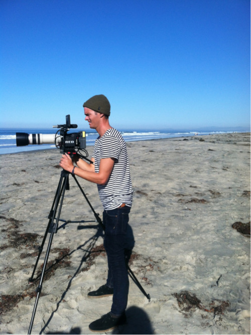 Russell and his Red Epic.  San Diego 2012.