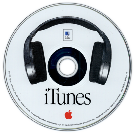 tuaw:  As iTunes 11 looms, here's a look at a 1.0 installer CD. jshmllr:  iTunes v1.0 installer CD (2001) The version history of iTunes begins in 1998 and continues to  the present day.   #Nostalgic