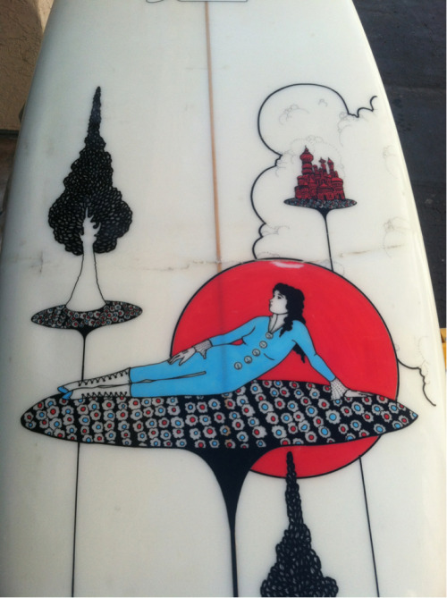 So bummed I buckled this beautiful surfboard.  San Diego 2012.
