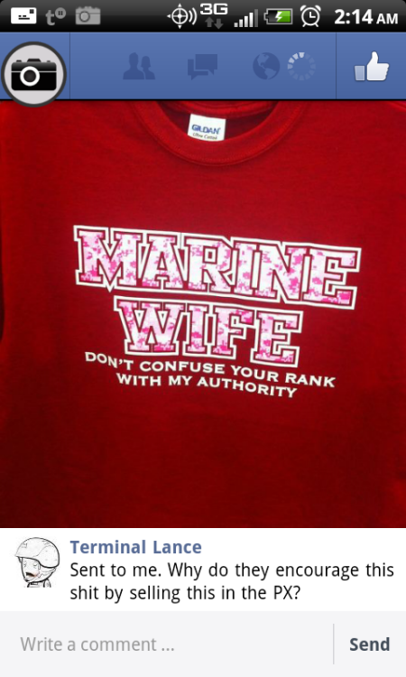 milso military wife military girlfriend military terminal lance funny no hope for the human race marine girlfriend marine wife wear his ring not his rank bitches