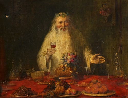 William Ewart Lockhart Old Father Christmas 19th century