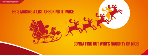Santa Facebook Covers