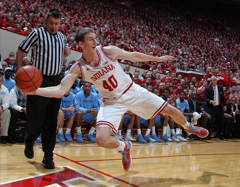 Number One makes a statement. Indiana 83, North Carolina 59