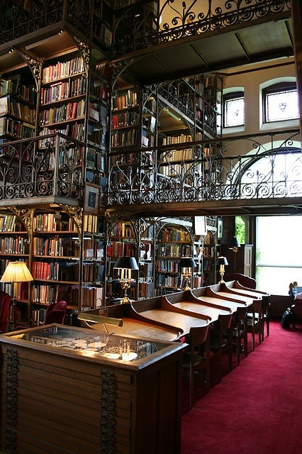 Uris Library, Cornell University, New York  photo via krista