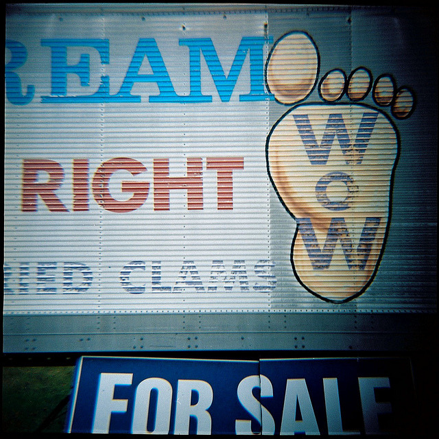 Ream Right Clams Wow on Flickr.Via Flickr: Salisbury, Mass., June 2012. For Sale….