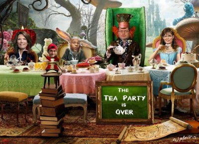 Dear Tea Party, Thank you for being bat-shit crazy…Happy Holidays, Barack Obama…