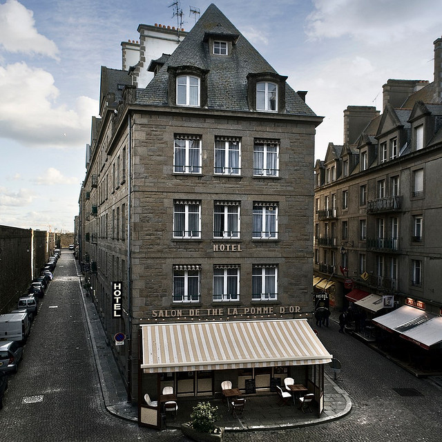| ♕ |  Hotel in St-Malo, Normandy  | by © Julio Saguar | via ysvoice