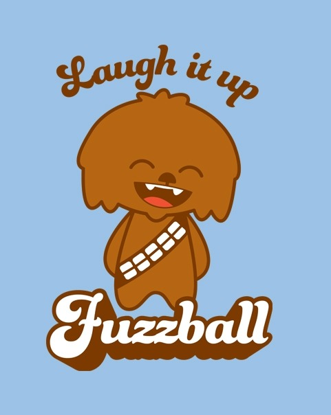 tshirtroundup:  ShirtPunch Design #1: Fuzzball - by sublevelstudios On sale for 24 hours only for $10 from ShirtPunch .