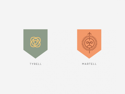 thereadables:  Sigils of the Houses of Westeros