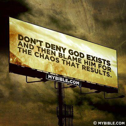 We look at the chaos, and we say: Why God? We look at the disasters, and say: What did we do wrong? We look at the wars, pestilence, famines and more, and we say: Why has God abandoned us? God really didn't abandon us, we abandoned Him… When will we step up and own it?    2 Chronicles 7:14 King James Version (KJV)   14 If my people, which are called by my name, shall humble themselves, and pray, and seek my face, and turn from their wicked ways; then will I hear from heaven, and will forgive their sin, and will heal their land