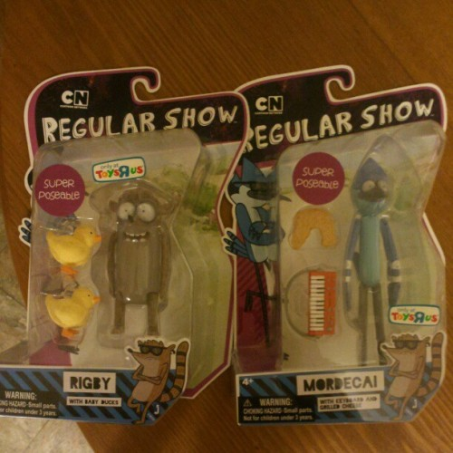 samuelperalta:  Proud Owner. Best Fuckin Cartoon Ever! #cartoon #Regular Show #comedy #cartoon network #mordecai #rigby