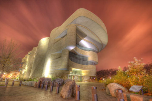 TinRek29:  National Museum of American Indian Location: Washington, USA  Photo Source: http://www.instantshift.com