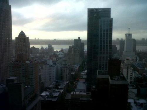 girltalk89:  New York City from the 33rd floor.
