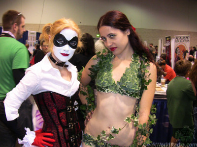 //OMG I NEVER SAW THIS ONE! Original link here. My bffl as Harley and myself as Ivy at Wondercon 2012. :D