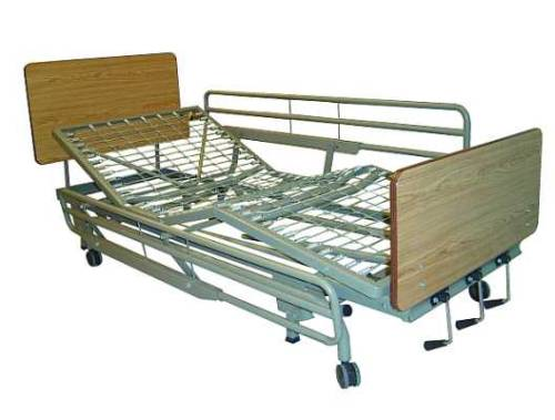 Hospital bed frames and medical supplies in Charlotte, NC. Griffin Home Healthcare sells and rents hospital bed frames that have manual, semi electric and full electric electric adjustable features. They distribute durable medical equipment and hospital supplies from 3 North Carolina locations in Charlotte, Gastonia, and Kings Mountain. Physicians, surgical centers, and in-home care providers often require specific devices in order to position patients optimally while they rest and recover. Whether you need a bed frame, mattress, patient lift, disposables, or specialty equipment designed for bariatric users Griffin has health care professionals ready to assist.