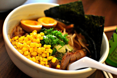 shoyu ramen @ Ren's Ramen, Wheaton MD by Plantains & Kimchi on Flickr.