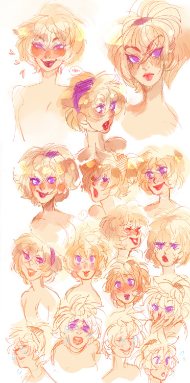 Rose expressions might possibly be my favorite expressions?? High Res
