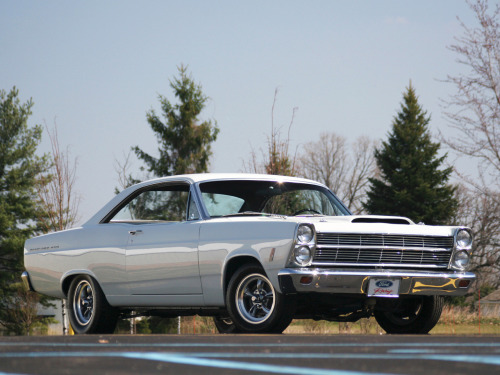 musclecarblog:  (via 1966 Ford Fairlane 500 by ~Vertualissimo on deviantART)  One of my dream cars. I have a sentimental attachment to 66 Fairlanes, because the one I had (named Eleanor) was a project car that never was. I will have another one someday, no doubt about it. And hopefully it will look just like this!