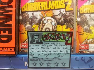 Borderlands 2 This much fun since Diablo 3. - via reddit