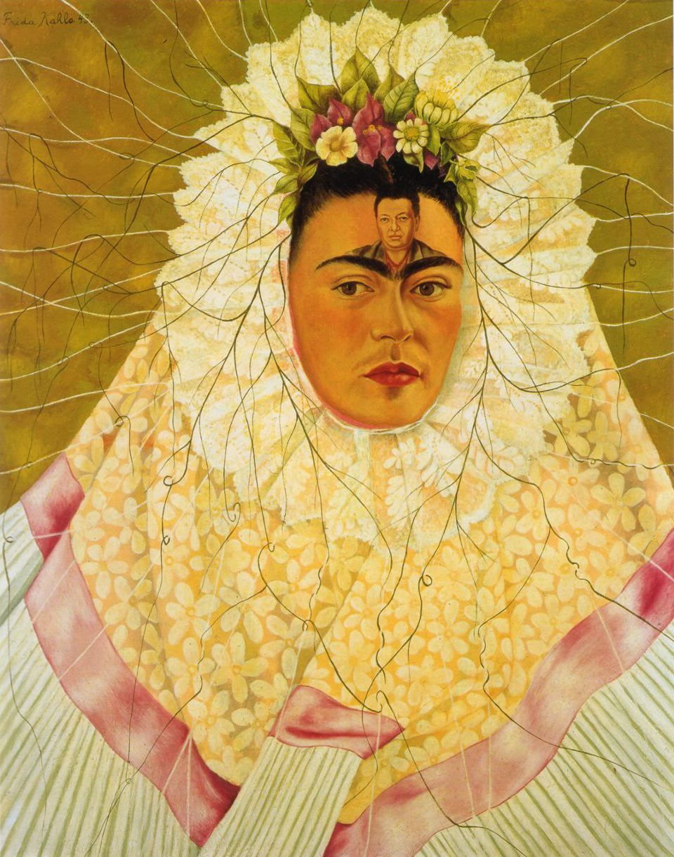 vguiscard:  Diego on my mind - Frida Kahlo