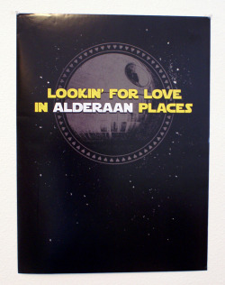 "Lookin' for love in Alderaan places (enter the code ""IHAVEYOUNOW"" for 15% off)"