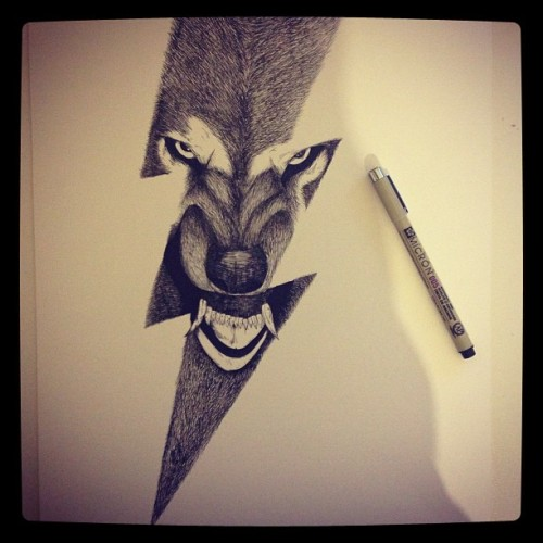 #wolf #drawing #illustration #sketch #alfredbasha #art #disegno #illustrazione #mickeymouse