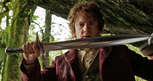 totalfilm:   First clip from The Hobbit: watch now The first official clip has landed online from The Hobbit: An Unexpected Journey, in which Bilbo first comes into possession of his famous sword, Sting…