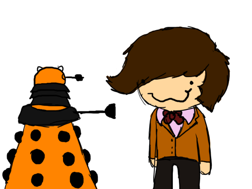 headhoeslappa:  Doctor who  I drew this for mai waifu, PinkieDinkie <3
