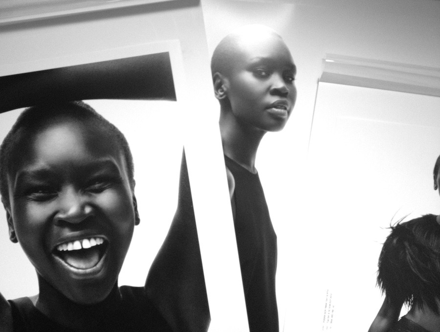 Our cover star Alek Wek discusses the Sudanese refugee crisis and how 'modelling in moderation' allows her to work raising the profile of her newly-independent country's current struggles with Olivia Singer.Photography by Daniel Jackson.