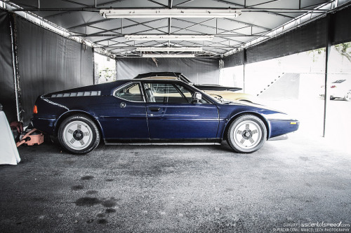 crash—test:  BMW M1 (by Marcel Lech)