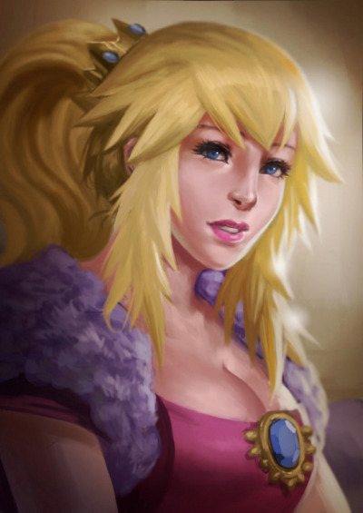 movealongmachere:  Princess Peach by Slence DeviantArt - Website